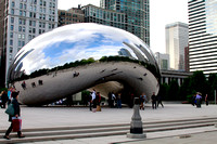 "Cloud Gate - I call it the ""Magic Bean""."